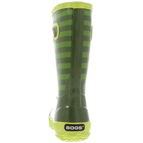Bogs Stripe Rainboot Kids Olive